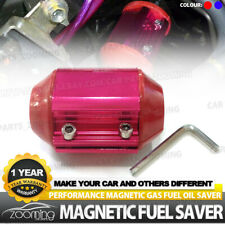 Car Magnetic Oil Gas Fuel Saver Economizer Engine Protect Reduce Emission Red