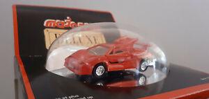 LAMBORGHINI COUNTACH rouge 1/60 MAJORETTE Deluxe Collection 1004 voiture miniatu