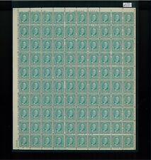 1931 United States Postage Stamp #692 Plate No. 20618 Mint Full Sheet