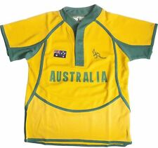 Children's Cool Dry Style Rugby Shirt In Australia Colours Size 3-4 Years