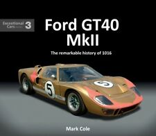 Ford GT40 Mk II - history of chassis P/1016 (Le Mans Daytona Sebring) Buch book