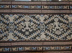 Handspun Handwoven Sumba Songket Ikat large