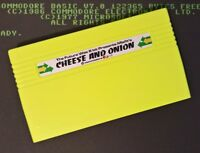 Cheese & Onion Cartridge NEW (2017) game for the Commodore VIC20