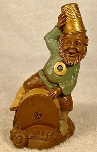DARN-R 1988~Tm Clark Gnome~Cairn Item #5049~Ed #92~Thimble Series~Story Included