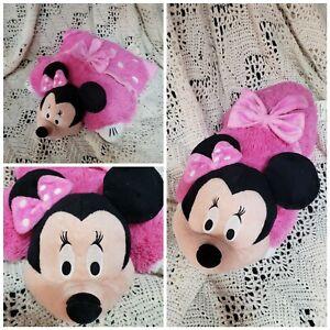 "PILLOW PETS Disney Minnie Mouse Large 18"" Pink Polka Dots Plush Toy"