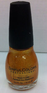 Sinful Colors Professional Nail Polish - Choose Your Color - Lot of 2 .5 fl.oz.