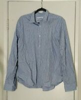 Frank and Eileen Mens Paul Button Down Shirt Size Large Long Sleeve Italy Plaid