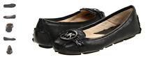 Michael Kors Fulton Moc Black/black Ballet Flat Women's sizes 5-11/NEW