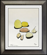 Mihail Chemiakin Original Gouache Painting Indian Ink Signed Artwork Still Life