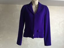 Woman's Alessandro Dell'Acqua violet jacket size 40