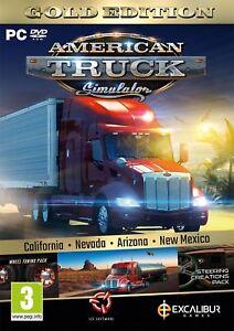 American Truck Simulator Gold PC DVD NEW!