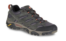 NEW Merrell Moab 2 Waterproof Hiking Shoes - Men's Black/Grey