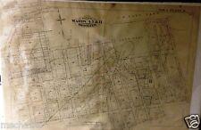 1887 RARE DUMBO FT. GREENE BROOKLYN NEW YORK HOPKINS INSURANCE MAP ATLAS