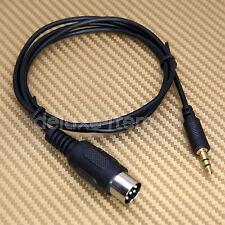 ALPINE Voiture Radio Stéréo 8-PIN M-Bus DIN Cordon Câble pour 3.5 Mm Mini Jack AUX IN MP3