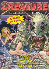 Snow Beast Demon Blood Tide Lady Frankenstein Night Fright HORROR VERY GOOD DVD