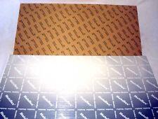 Lot 11 Metallex 24 x 12 Engraving Stock Sheets Silver Black Stamark 3M Adhesive