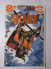 SGT ROCK ANNUAL # 2 - ROCK'S BROTHER - 1982