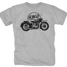 AWO 425 DDR VEB Moped Motorrad Mofa  Kult T-Shirt S-XXL zink