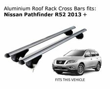 Aluminium Roof Rack Cross Bars fits Nissan Pathfinder R52 2013 Onwards