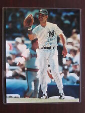 Don Mattingly Autographed 8 x 10 Color Photo Yankees Authentic