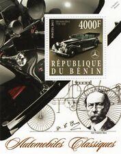 Karl Benz & 1936 MERCEDES-BENZ Type 770-K Classic Automobiles Car Stamp Sheet