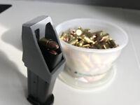 Sig Sauer P250 P320 9mm Speed loader / Thumb saver / Magazine Loader Gray