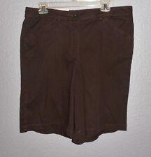 White Stag Bermuda Shorts Summer/Fall Brown Cafe Walking Shorts Hiking NWT 14