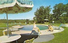 Kittery Maine~Charter House Motor Hotelon Route 99~1971 Postcard