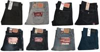Levis 569 Jeans Men's Loose Fit Straight Leg Levi's Denim Blue Black Gray