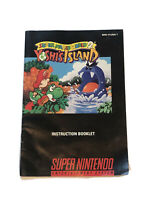 Super Mario World 2 Yoshi's Island Super Nintendo SNES Video Game Manual Only