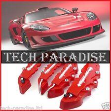 4x Caches étriers de freins Brembo 3D Universel disque TOUTES MARQUES *Rouge*