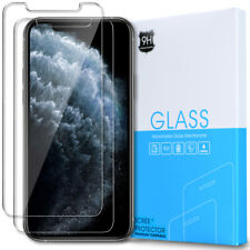 [2-Pack] iPhone 11 Pro Tempered Glass [Scratch-Resistant] Screen Protector Clear