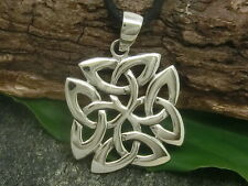 Celtico NOTI 925925 Ciondolo in argento Quadrifoglio Gioielli CATENA rimorchio