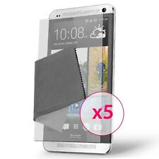 Films de protection Anti-Reflet HD HTC One (M7) Lot de 5