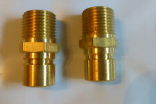 """Foster Fjt Series Fp554 quick connect threaded 3/4"""" Mpt 2Pcs"""