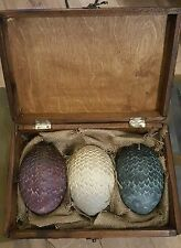 Game of Thrones Dragon Eggs with Display case