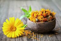Dried Calendula (Marigold) Flowers - 2 oz, 4 oz, 8 oz  LOWERED PRICE + FREE SHIP