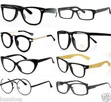 """Unisex Durchsichtige linse Vintage """"Wiederholen"""" Style Mode Brille"""