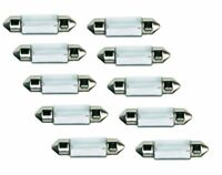 10 STÜCK C5W 5W 12V 36mm Soffitte Sofitte Lampe Kennzeichen Birne