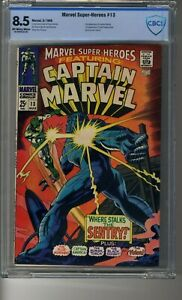 Marvel Super-Heroes (1968) # 13 - CBCS 8.5 OW/White Pages - First Carol Danvers