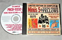 THE MINUS 5 vs YOUNG FRESH FELLOWS+Robyn Hitchcock CD promo US sampler ep NM/VG+