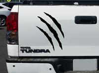 Claw Scratch Marks - sticker decal Fits Tundra Toyota Raptor Ford truck CS3