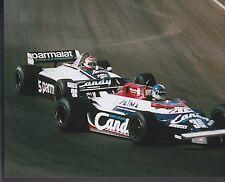 Derek Warwick Toleman-Hart NELSON PIQUET US GRAND PRIX 1981 8 X 10 PHOTO 3