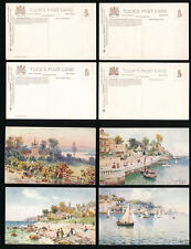 ISLE of WIGHT TUCKS OILETTE 7574 COWES 4 DIFFERENT...ARTIST WIMBUSH