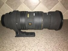 SIGMA 50-500 mm BLACK LENS For Canon