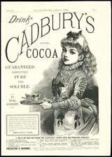 1888 - ADVERTISING FULL PAGE CADBURY COCOA DRINK ROYAL AUTHORITY (19)