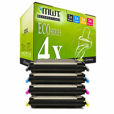 4x MWT ECO Patrone für HP Color LaserJet 5500-DTN 5550-DTN 5500-HDN