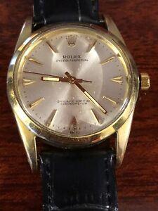 Rolex Datejust 1024 2 Toni Acciaio/oro Pefette Condizioni 34 mm