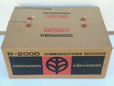 TRIO KENWOOD R-2000 HF COMMUNICATIONS RECEIVER WITH YG-455C FILTER VG+ IN BOX