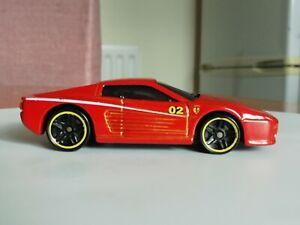 Hot wheels FERRARI 512M  from 5 pack burnt orange very clean metal/metal